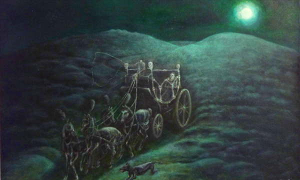 Ethan Pennellpaintings  The Dartmoor Folklore Project
