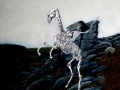 Ethan-Pennell_Old Crockern, Guardian Spirit of Dartmoor (oil on canvas/pen & ink)